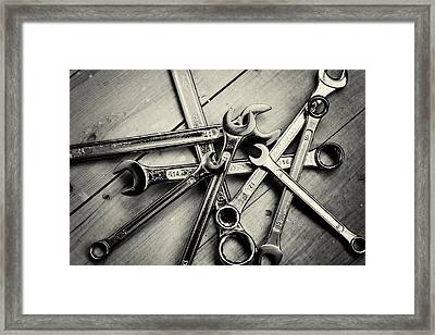 Diy Set Of Home Spanners Framed Print by John Williams