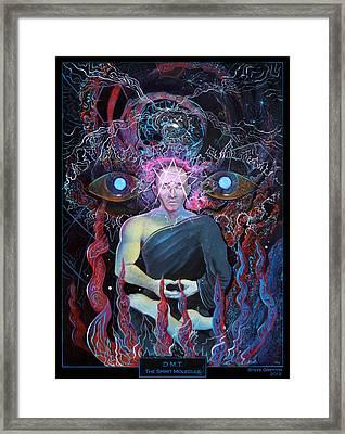 Dmt - The Spirit Molecule Framed Print by Steve Griffith
