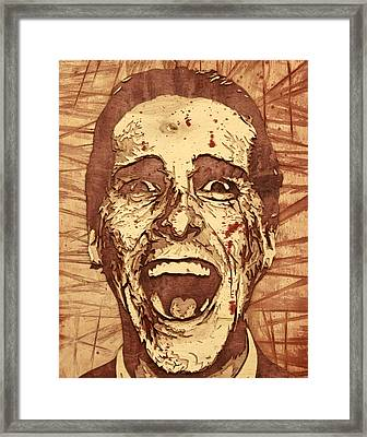 Do You Like Huey Lewis And The News? Framed Print by Bobby Zeik
