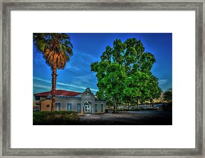 Dock Master Framed Print by Marvin Spates