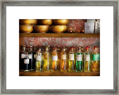 Doctor - Colorful Cures  Framed Print by Mike Savad