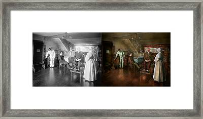 Doctor - Old Fashioned Influence - 1905-45 - Side By Side Framed Print by Mike Savad