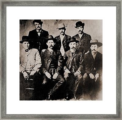 Dodge City Peace Commissioners Framed Print by Everett