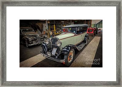 Dodge Da Tourer Framed Print by Adrian Evans