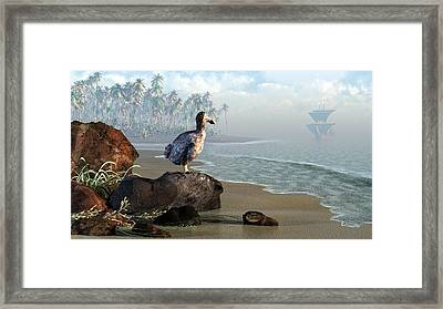 Dodo Afternoon Framed Print by Daniel Eskridge
