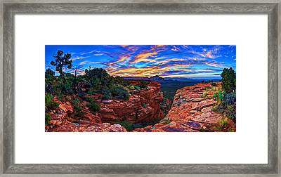 Doe Mountain Sunrise Framed Print by Bill Caldwell -        ABeautifulSky Photography