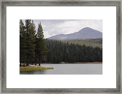 Dog Lake Framed Print by Meagan Suedkamp