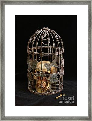 Dogmatic Enslavement Framed Print by Dodie Ulery
