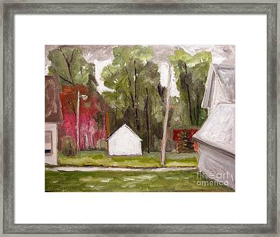 Dogwoods In Bloom Framed Print by Charlie Spear