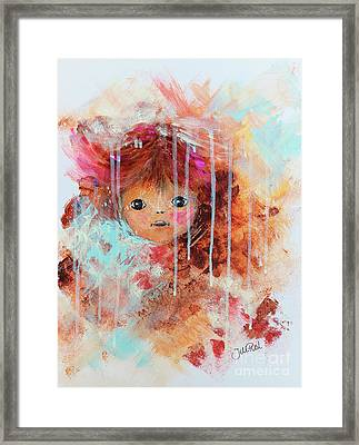 Doll Framed Print by Jutta Maria Pusl