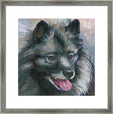 Dollie Framed Print by Nadi Spencer