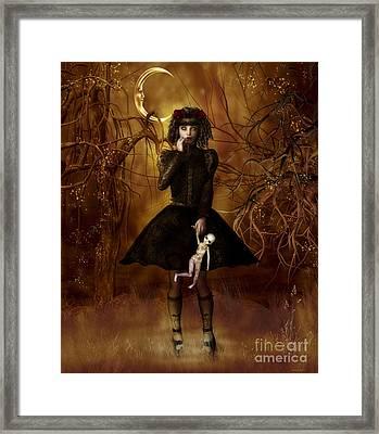 Dolly Broke Framed Print by Shanina Conway
