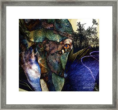 Domesticated Framed Print by Ron Bissett