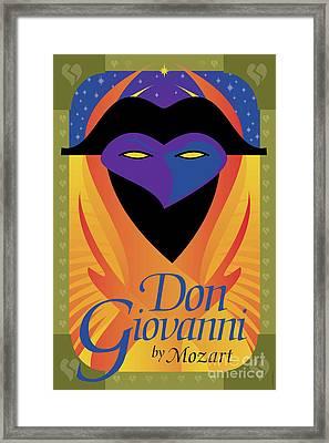 Don Giovanni Framed Print by Joe Barsin