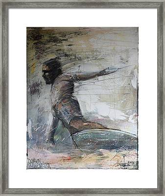Donavon Frankenreiter Framed Print by Andoni Galdeano