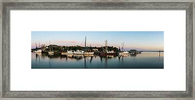 Done For The Day Framed Print by Jon Glaser