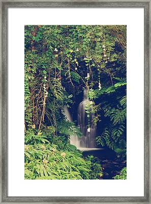 Don't Hide Your Love Away Framed Print by Laurie Search