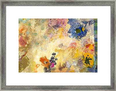 Don't Send Me Flowers Iv Framed Print by Gloria Von Sperling