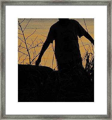 Dont Tell Me I Cant Fly Framed Print by Sandy Rubini