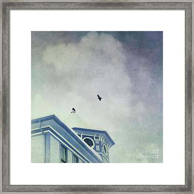 Don't Wait Around Framed Print by Priska Wettstein