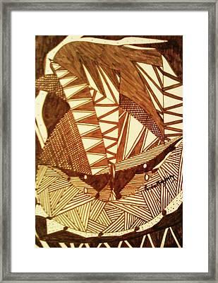 Doodlewat7 Framed Print by Paula Maybery