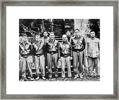 Doolittle's Raiders Framed Print by American School