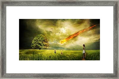 Doomsday Framed Print by FL collection