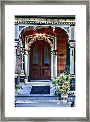 Door 44 Framed Print by Paul Ward