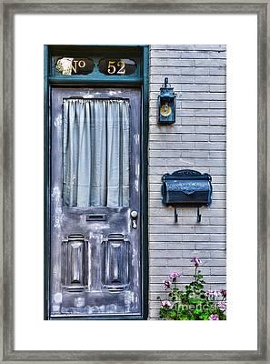 Door 52 Framed Print by Paul Ward