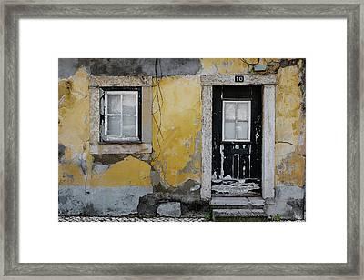 Door No 10 Framed Print by Marco Oliveira