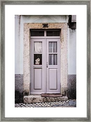 Door No 206 Framed Print by Marco Oliveira