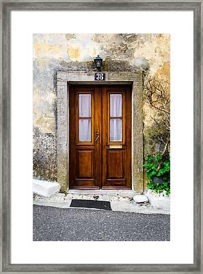 Door No 36 Framed Print by Marco Oliveira