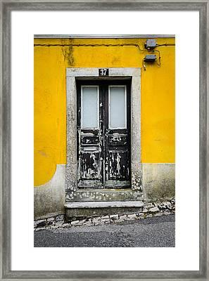 Door No 37 Framed Print by Marco Oliveira
