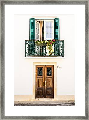 Door No 51a Framed Print by Marco Oliveira