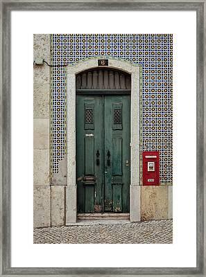 Door No 6 Framed Print by Marco Oliveira