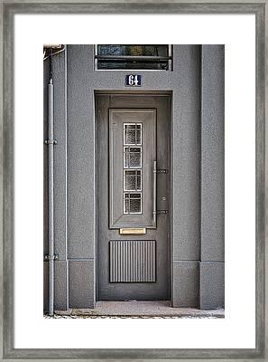 Door No 64 Framed Print by Marco Oliveira
