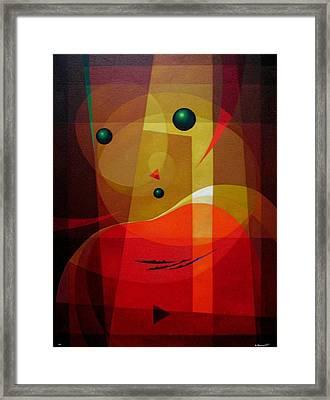 Doors Of Perception Framed Print by Alberto D-Assumpcao