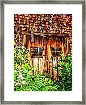Doors Of Perception Framed Print by Elizabeth Tillar
