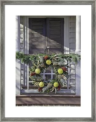 Doors Of Williamsburg 44 Framed Print by Teresa Mucha