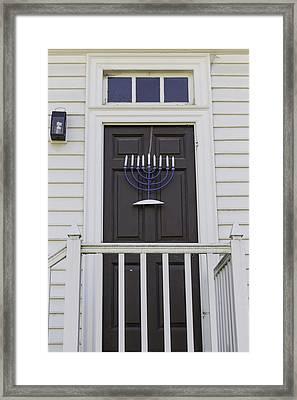 Doors Of Williamsburg 53 Framed Print by Teresa Mucha