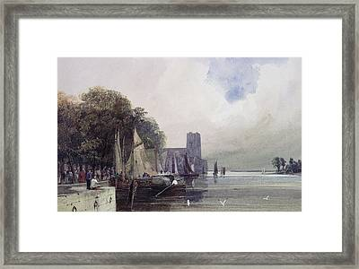 Dordrecht Framed Print by Thomas Shotter Boys