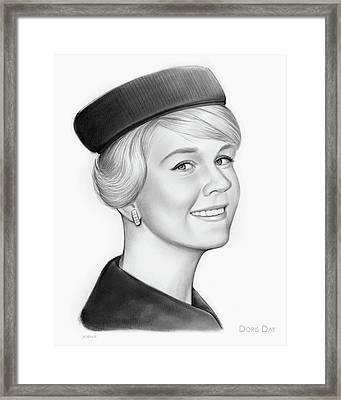 Doris Day Framed Print by Greg Joens