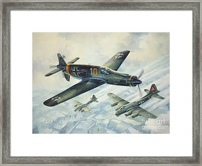 Dornier Do335 Pfeil Arrow Framed Print by Randy Green