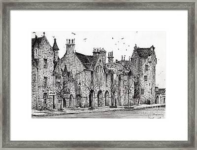 Dornoch Framed Print by Vincent Alexander Booth