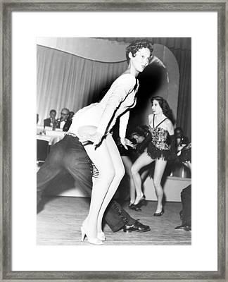 Dorothy Dandridge 1922-1965, Dances Framed Print by Everett