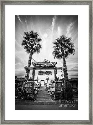 Dory Fleet Market Newport Beach Photo Framed Print by Paul Velgos