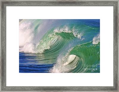 Double Barrel Framed Print by Paul Topp