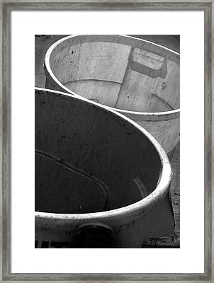 Double Barrel Framed Print by Ross Odom