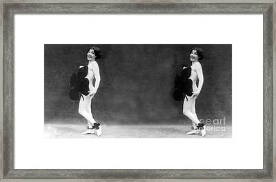 Double Happy Saint Patricks Day, 1928 Framed Print by Science Source