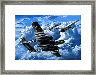 Double Trouble Framed Print by Charles Taylor